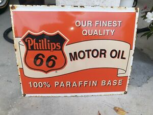 Antique Vintage Old Style Pennzoil Aircraft Grade Oil Sign