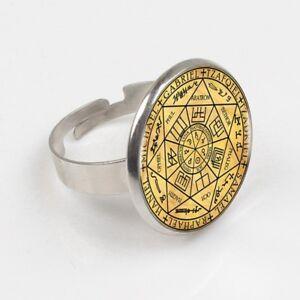 Details about Sigil 7 Archangels Ring Catholic Saint Michael Gabriel  Raphael Christian Jewelry