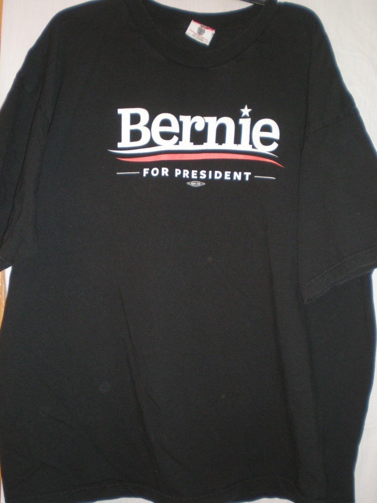 Bernie Sanders T hemd For President XXXgroß