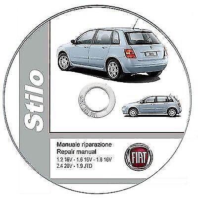 repair manual M.Y. 2001 Fiat Stilo manuale officina