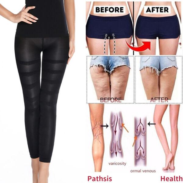 Spannende Strumpfhosen Frauen Leggings Fettverbrennung Kompression Strumpfhose