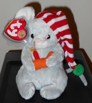 -MWMTs Stuffed Toy RAMBLE the Dog BBOM August 2005 TY Beanie Baby 5.5 inch