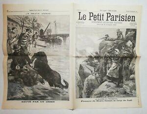 N890-La-Une-Du-Journal-Le-petit-Parisien-26-novembre-1899-guerre-au-transvaal