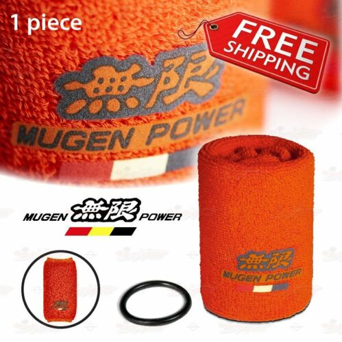 JDM Mugen Oil Reservoir Tank Fireproof SOCK COVER for HONDA ACURA Civic CRX 1PC