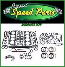 Enginetech 96-02 Chevy GM Light Truck 350 5.7L OHV V8 Premium Engine Remain Kit