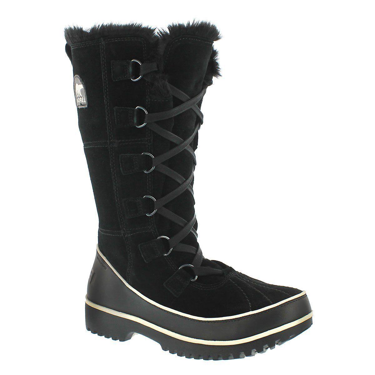 SOREL UP Damenschuhe Waterproof Tivoli High II LACE UP SOREL WINTER Stiefel,BLACK SIZE 6 ff0b87