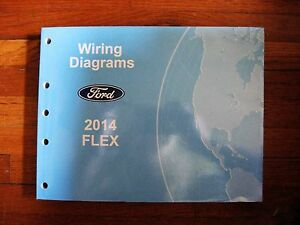 2014 ford flex electrical wiring diagram service shop. Black Bedroom Furniture Sets. Home Design Ideas