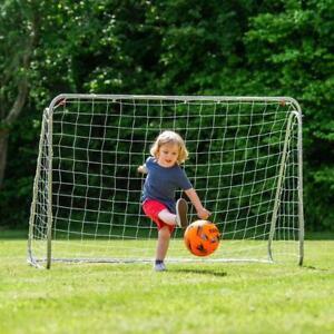 CALCIO GOAL POST 6Ft x 4Ft Net FORMAZIONE CALCIO attrezzature da giardino esterno bambini