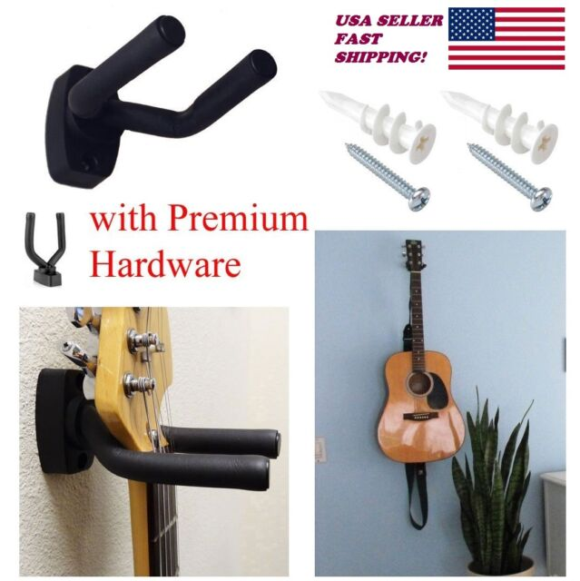Guitar Hanger Stand Holder Wall Mount Display Acoustic Electric for All Size USA