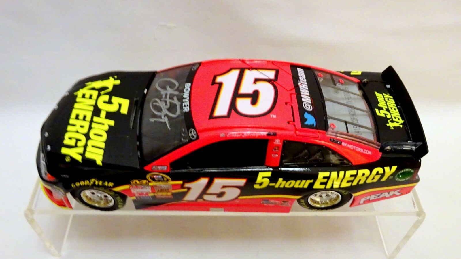 CLINT BOWER NASCAR LIONEL 2014 5-hour ENERGY CAMRY AUTOGRAPHED    (26)