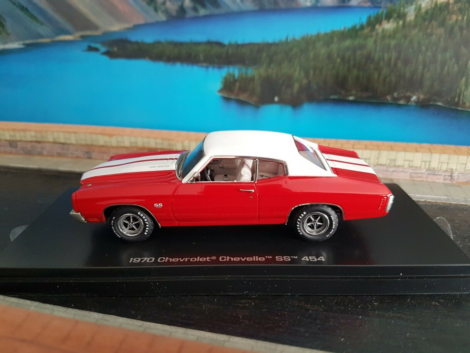 Carworld 1970 chevrolet chevelle ss 454 scale 1.43