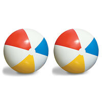 2-pack Swimline Inflatable 36-inch Classic Rainbow Giant Beach Balls | 2 X 90036 on sale
