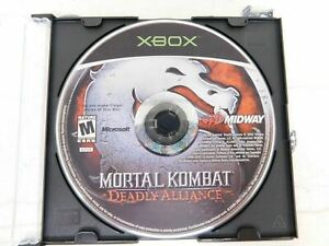 Mortal-Kombat-Deadly-Alliance-Microsoft-Xbox-Disc-Only-Cleaned-and-Tested