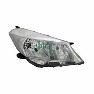 Scheinwerfer-LWR-TYC-034-E-034-H4-elektrisch-verstellbar-Mot-Chrom-links-TOYOTA-YAR