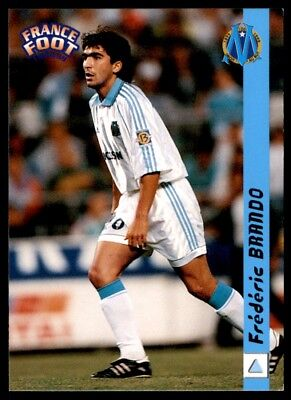 #144 Frederic Brando Olymp. de Marseille Panini Champions League 1999-2000