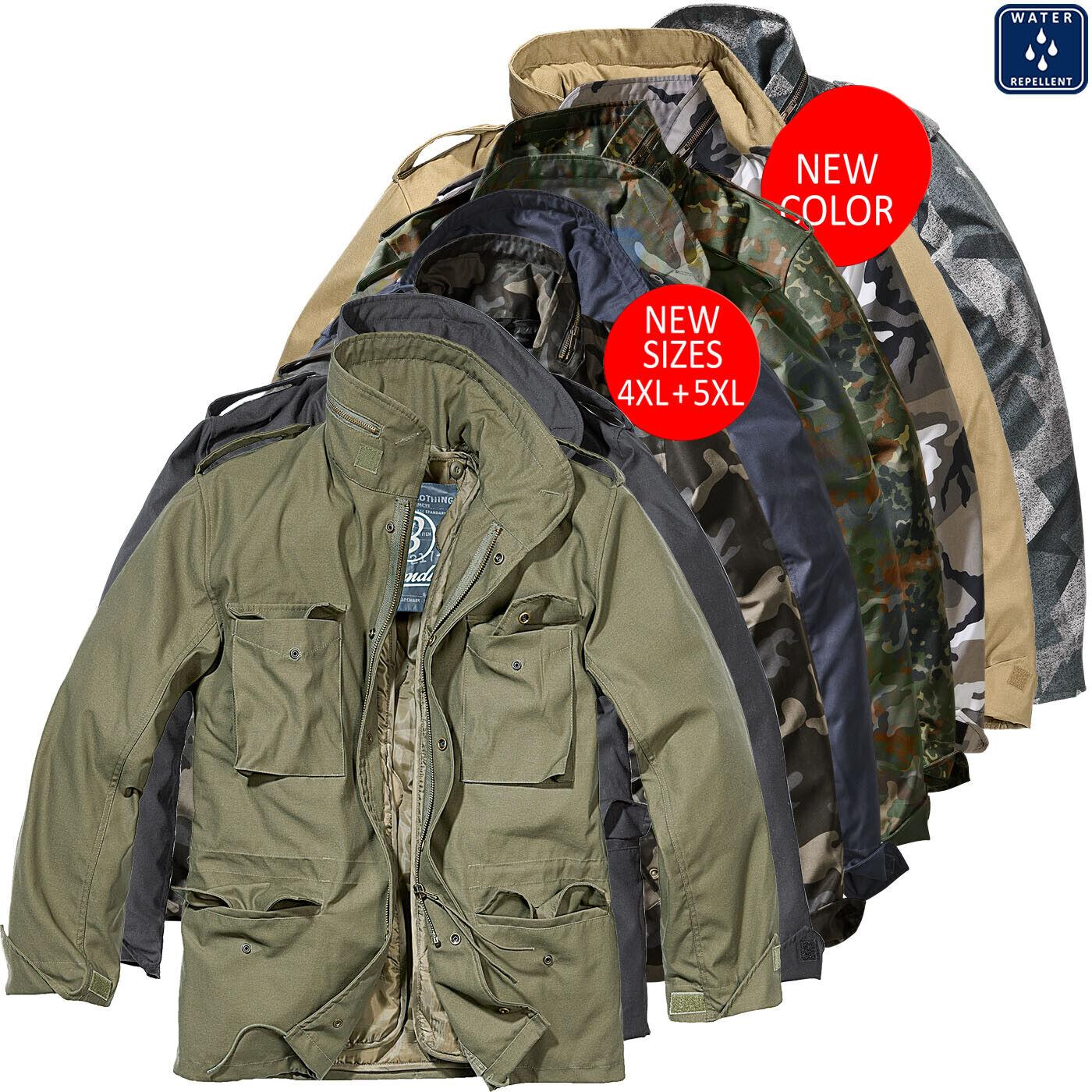 Brandit M65 Jacket Camel M65 Jackets Clothing