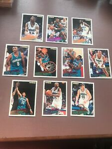 1994-95-Fleer-Basketball-Team-Set-Charlotte-Hornets