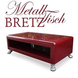 Bretz Couchtisch Rot Rosen Sweet Boy Tisch Gross Metall Designertisch