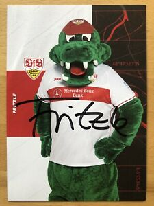 Mascot Fritzle Ak Vfb Stuttgart 2020 21 Autograph Card Original Signed Ebay