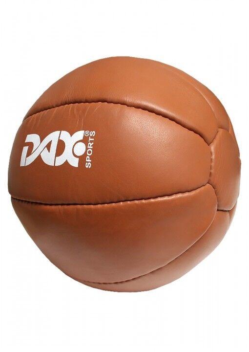 Dax-Sports-medicina palla 3kg in pelle. forza, palestra, allenamento della forza.