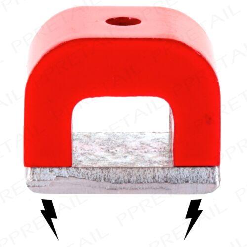 MINI TOOLBOX MAGNET METALLIC MAGNETISER Horseshoe 20 x 30 x 20mm Retreiver+Clamp