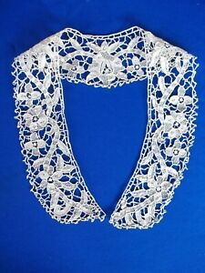 antique hand made lace collar