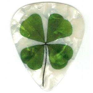 12 Bulk Pick Pack Lucky 4 leaf Clover Luck Irish St Patrick's Day Green Picks