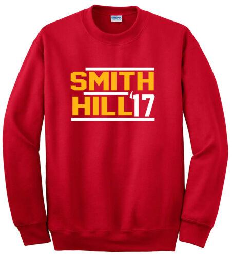 Alex Smith Tyreek Hill Kansas City Chiefs 17 jersey shirt Hooded SWEATSHIRT