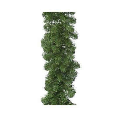 Ghirlanda Addobbi Natale Advent Türdeko Fensterdeko Abete Pino Verde Decorazione- Non-Stireria