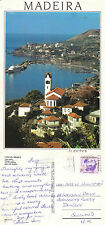 1990's AERIAL VIEW OF FUNCHAL MADEIRA PORTUGAL COLOUR POSTCARD