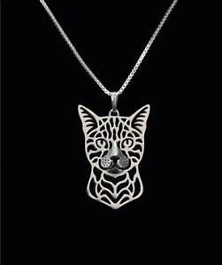 bengal cat charm pendant necklace gifts for her friend gifts cat