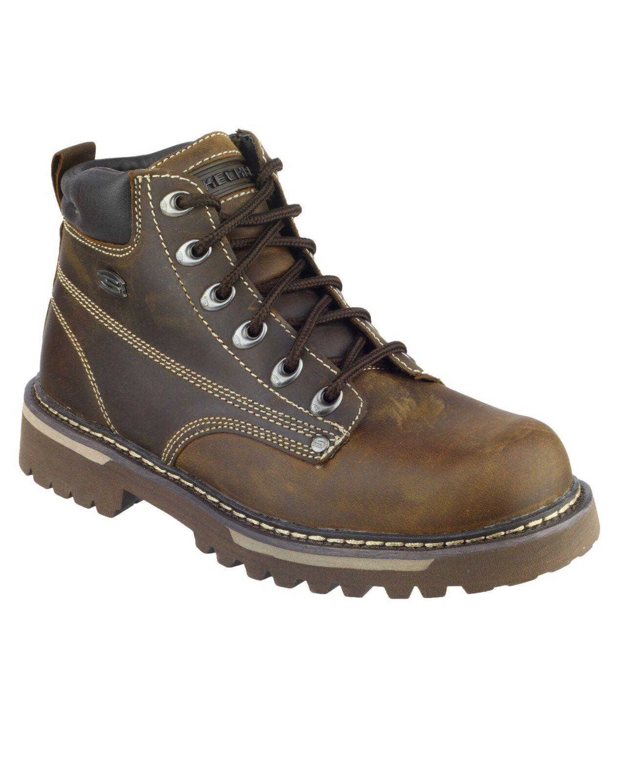 Skechers Cool Cat Bully II 2 hombre botas de marrones de botas piel sk4479 Zapatos uk6-12 f57a7e