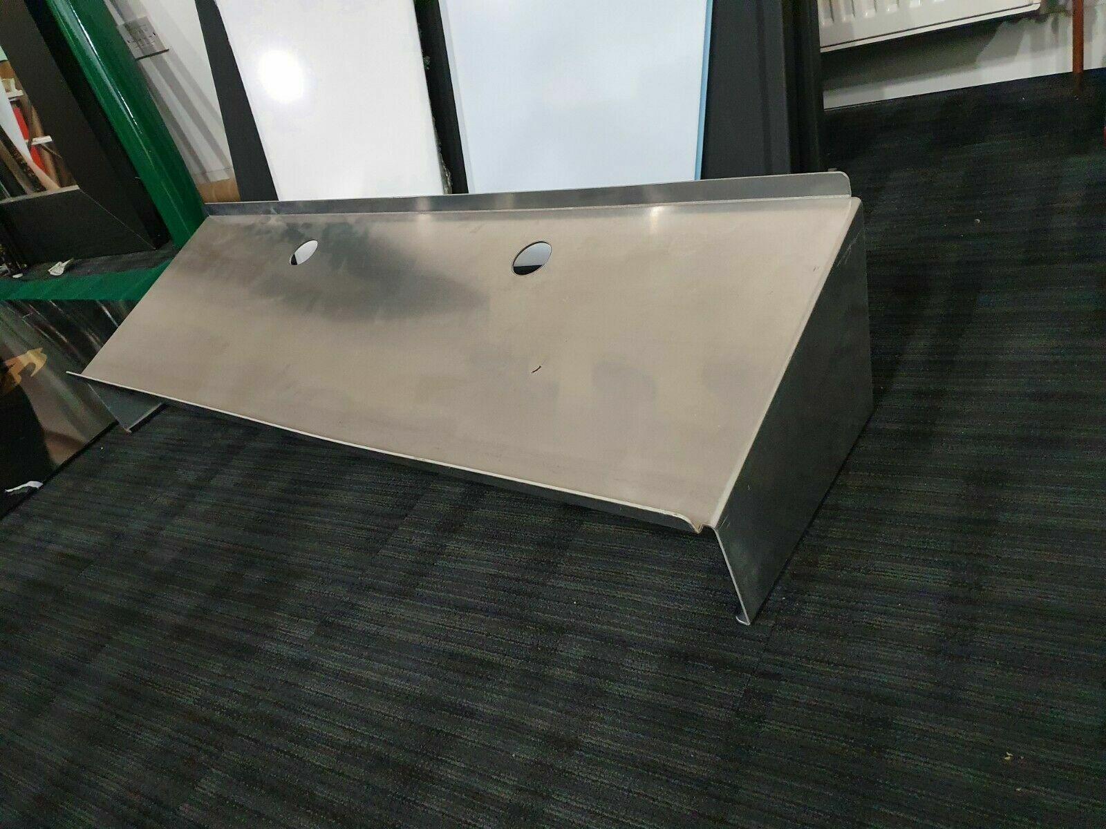 LiteConsole XPRS slanted Laptop shelf original (available in blk & aluminium)