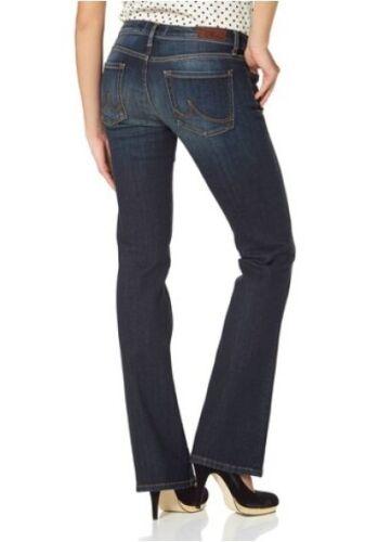LTB Flare Jeans Cristia Schlaghose Low Rise Denim Stretch Dark Blue Bootcut L34