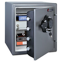 Sentry Electronic Fire Safe 1.23 Ft3 16 3/8w X 19 3/8d X 17 7/8h Gunmetal Gray on Sale