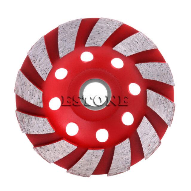 "4"" Diamond Grinding Wheel 100mm Concrete Cup Disc Concrete Masonry Stone Tool"