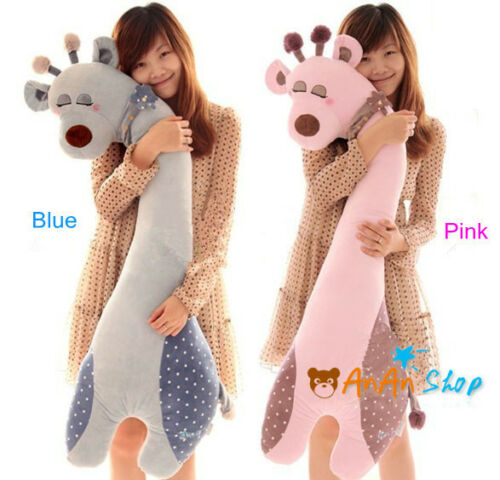 Free Shipping 43'' Plush Girlfriend Sleep Giraffe Soft Toy Animal Hold Pillow