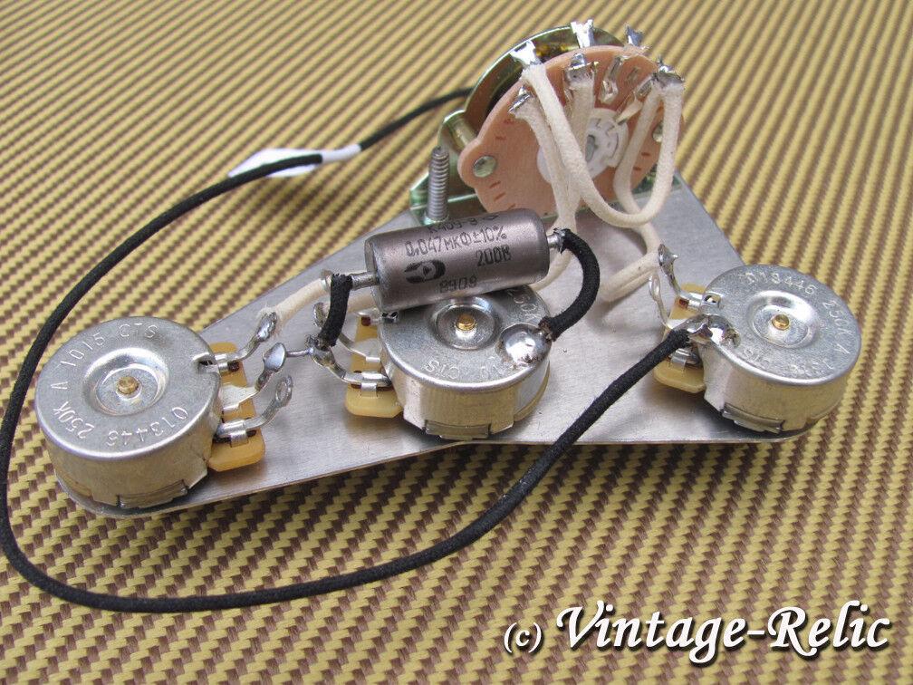 Upgrade Kit De Cables precableados Fits Fits Fits Fender Stratocaster; k40y-9 Pío PAC Cts Ollas  últimos estilos