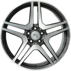 20-inch-WIDEPACK-SET-OF-VESUVIO-Wheels-MERCEDES-E-S-CL-SL-AMG-COMPATIBLE-ITALY