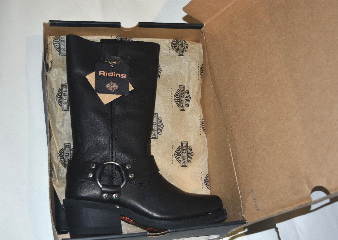 Nuevo En Caja 85354 Harley-Davidson Hustin Montar Tire de arnés Mujeres botas De Montar Hustin 7 c71350