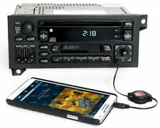 Jeep 1998 Cherokee RAZ Radio AM FM CD Cassette Player w Aux Input No SW Controls
