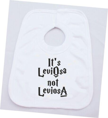 ITS LEVIOSA NOT LEVIOSA HARRY POTTER COTTON BABY VEST OR BIB