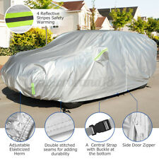 For Suv 6 Layers Full Car Cover Outdoor Waterproof With Zipper Cotton Eluto Fits Jeep