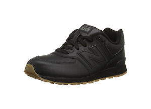 New-Balance-Shoes-Junior-Youth-Boys-Girls-KL574-Black-Running-Sneakers