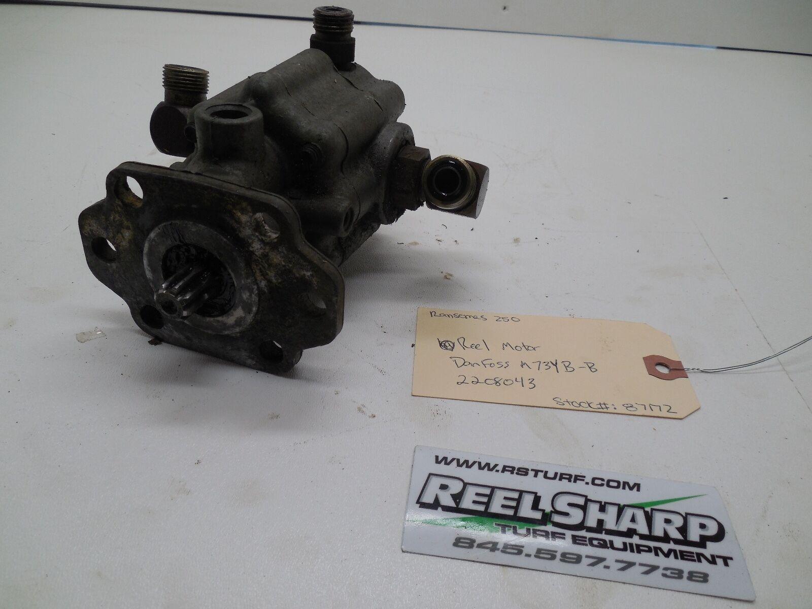 Motor De Cocherete Segadora Ransomes 250 Fairway 2208043 Hidráulico Danfoss Bomba de piezas de unidades