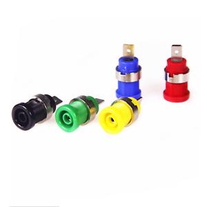 5Pcs-4mm-Banana-Female-Jack-Socket-Panel-Mount-Binding-Post-Plug