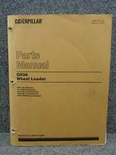 Oem Factory Cat Caterpillar G 936 G936 Front End Wheel Loader Parts Book Manual