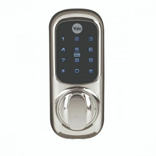 RFID PIN CODE Yale Keyless Connected Touch Screen Smart Door Lock CHROME