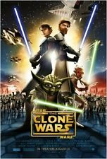 Star Wars Clone Wars Jedi Movie Poster 27x39