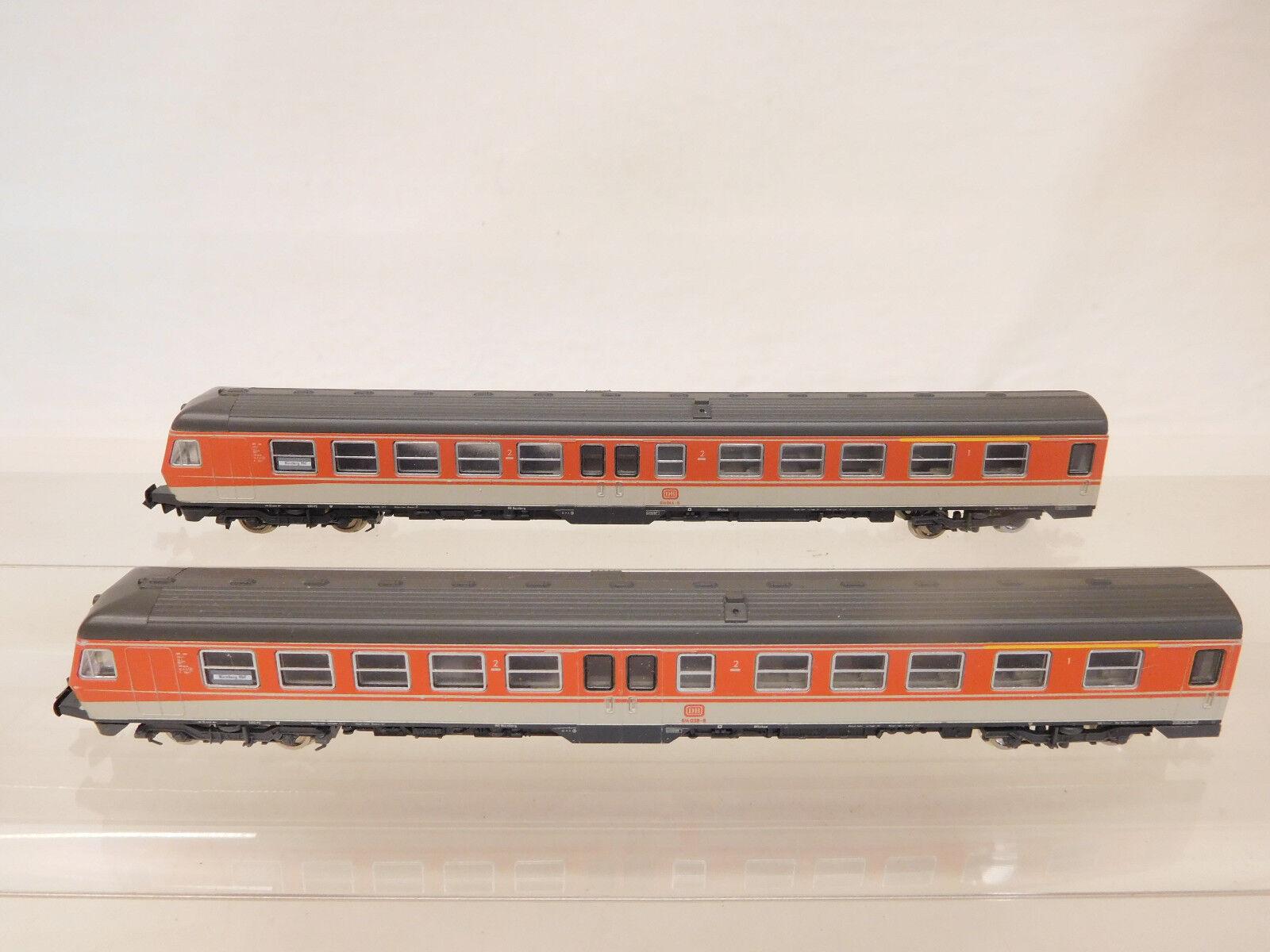 MES-56550 Fleischmann piccolo Spur N 2 teil. Triebwagenzug DB 614  | Öffnen Sie das Interesse und die Innovation Ihres Kindes, aber auch die Unschuld von Kindern, kindlich, glücklich